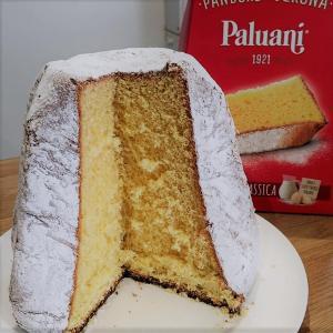 076: イタリアのクリスマスケーキPandoro食べてみた UK妊婦生活 予定日まであと25日