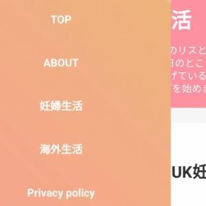 088: はてなブログ無料版をカスタマイズ「Haruni」 UK妊婦生活 予定日まであと13日