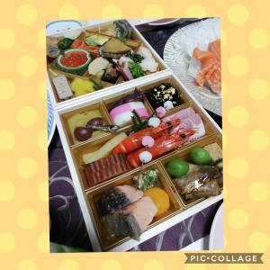 お食事サポート73日目! 連日の大食いおせち&ビール&日本酒で低血糖ぶりかえし