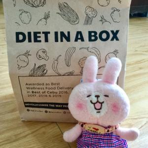 YouTubeでDIET IN A BOXのダイエット弁当日記をしようか?と準備中(*^▽^*)
