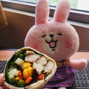 """今週火曜日のDIET IN A BOXのメニューは""""サラダ""""なイメージのメニューでした!"""