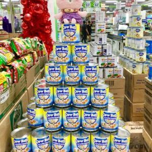 フィリピン式?メトロスーパーの商品の陳列が手間ひまかけてます💦