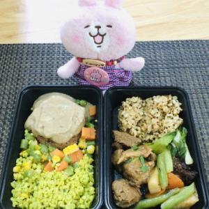 セブのデリバリーのダイエット弁当DIET IN A BOX~9月23日のお弁当~
