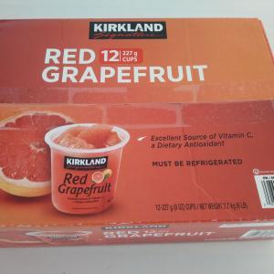 夫が大好きなコストコ、グレープフルーツ