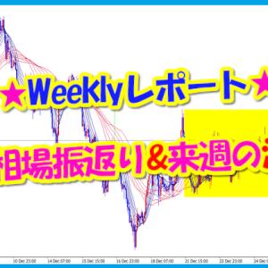 Weeklyレポート★今週の相場振返り&来週の注意点!