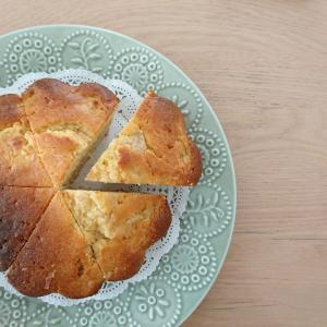 ラ・フランスのジャム入りパウンドケーキ