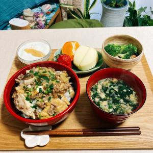 厚揚げの中華風あんかけ丼で健康的な朝ごはん