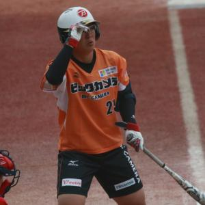山本優 選手 SOFT JAPAN(日本代表)