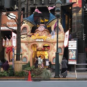 聖地♪ディズニーストア渋谷公園通り店へ行ってきました