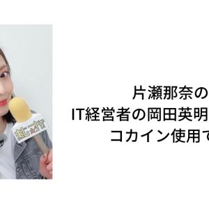 片瀬那奈の彼氏・IT経営者の岡田英明の顔画像やプロフィールは?:コカイン所持で逮捕!