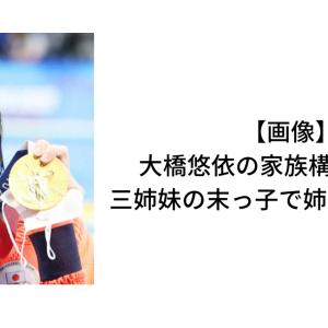 【画像】大橋悠依の家族構成は5人!三姉妹の末っ子で姉は芽依と亜依