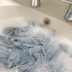 タオルの嫌なニオイを解消する方法はオキシ漬けが一番だと思う