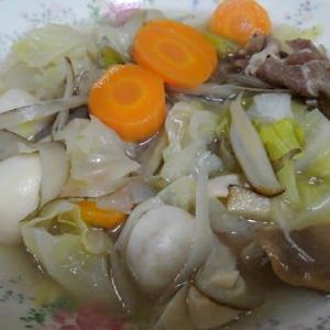 レクチンフリーキャベツたっぷり野菜スープ