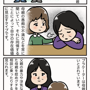 アダルトチルドレン6タイプ。5、プラケーター(慰め役)