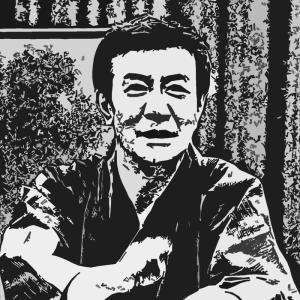 森乃福郎 Digital 肖像版画