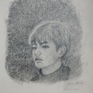 ソ・イングクさん、肖像画