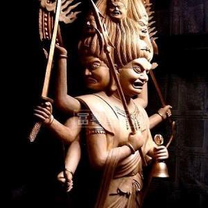 大型 三宝荒神像・像高150cm [寺院様・個人様向き ]
