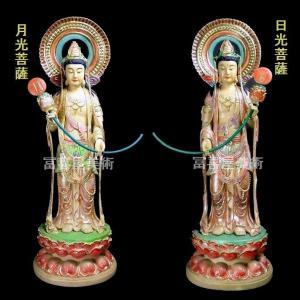日光月光菩薩 68cm「寺院様個人様向き」