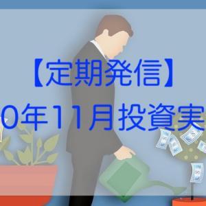 11月分投資実践記(2020年)