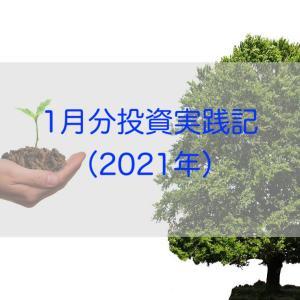 1月分投資実践記(2021年)
