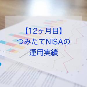 【12ヶ月目】つみたてNISAの運用実績