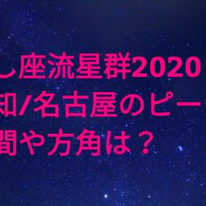 しし座流星群2020愛知(名古屋)のピーク時間・方角は?おすすめ観測スポットを紹介