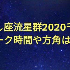 しし座流星群2020千葉のピーク時間や方角は?最適な星空観測スポットも