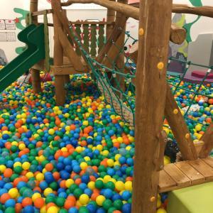 【遊び場】雨の日も室内だから安心!ボールプールが復活したグランツリー武蔵小杉店に行きました