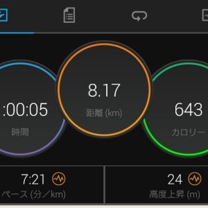 ゆる〜く、ランニング 2021年1月9日(土)