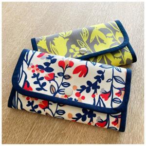 長財布と手ぬぐいのあずま袋、完成。