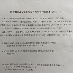 副学籍交流中断