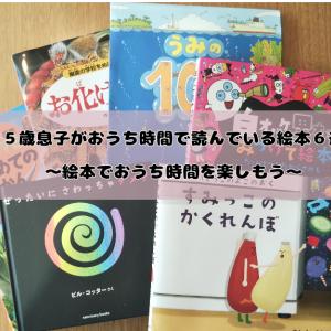 【幼児向け絵本】5歳息子がおうち時間で楽しんでいる絵本6選