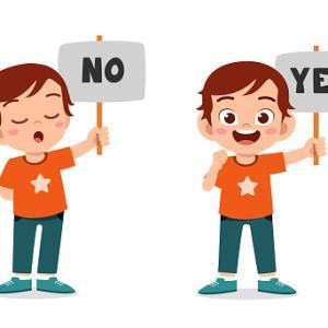 コミュニケーションの第1歩!『YES、NO』を身につけよう