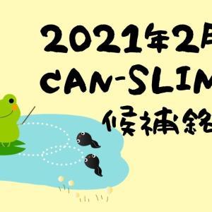 2021年2月CANSLIM銘柄候補