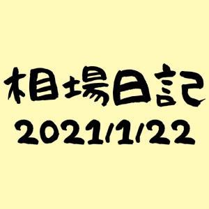 かえる相場日記-2021/1/22週報