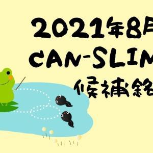 2021年8月CANSLIM銘柄候補