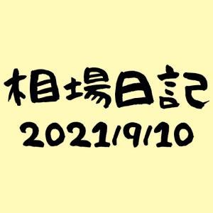 かえる相場日記-2021/9/10週報
