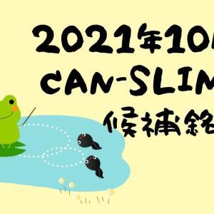 2021年10月CANSLIM銘柄候補