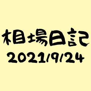 かえる相場日記-2021/9/24週報