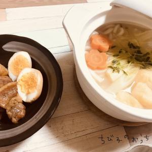 豚の角煮&ミニお鍋