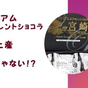 プレミアムエクセレントショコラ|宮崎土産|だけじゃない!
