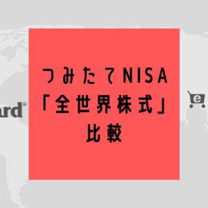 楽天証券で【NISA・つみたてNISA・iDeCo】全世界株式インデックスファンドを比較