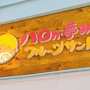 【開店】フルーツサンド専門店の「ハロが夢みたフルーツサンド」が橘通西にオープンしている