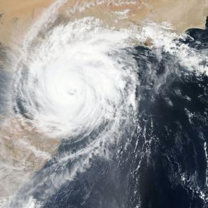 コインパーキングの台風対策