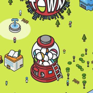 放置して街を発展!?クリアが可能なスマホゲーム「カプセルタウン」をご紹介!