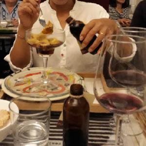 【イタリア料理の日】バローロ煮肉詰めプリンとタヤリン