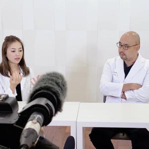 美人女医と女性の美容について対談