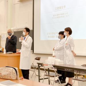 日本大学松戸歯学部にて医科と歯科の協業について講義