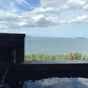 琵琶湖マリオットホテル温泉ビューバス付 プレミアルーム宿泊記☆コロナ禍の朝食・ラウンジ・地域共通クーポン・施設利用などをご紹介します。