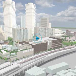 千住大橋駅周辺地区の再開発ポルテグランデ計画が始動したよ|E地区工事着工開始